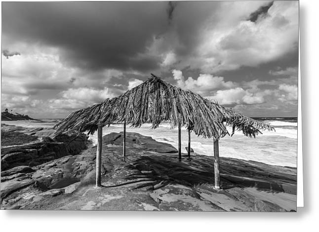 Beach Shack Greeting Card