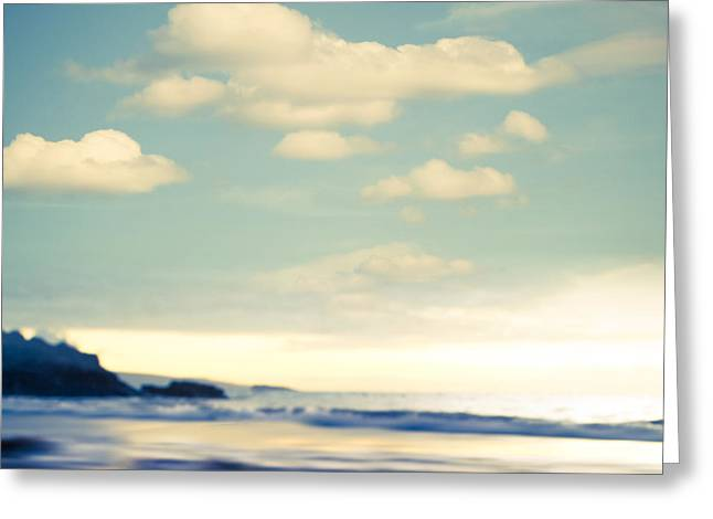 Beach Greeting Card by Sharon Mau