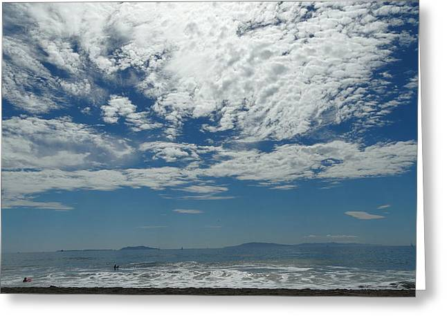 Beach Sky 1 Greeting Card by Jonathon Hernandez
