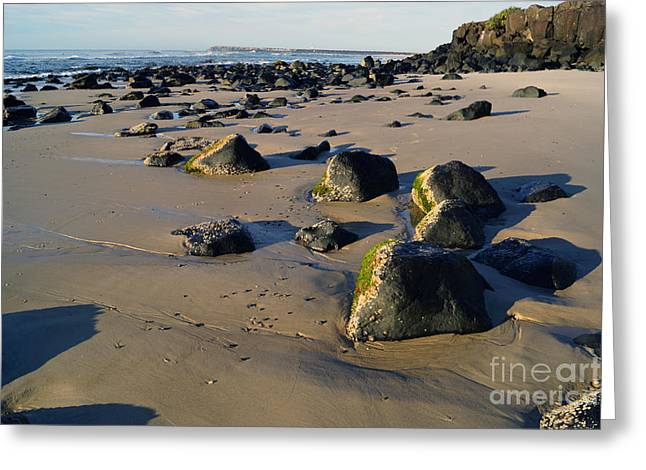 Beach Stones I Greeting Card