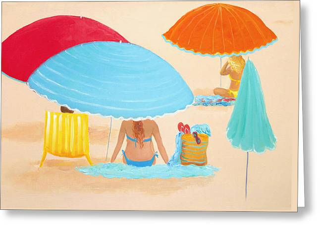 Beach Style Greeting Card by Jan Matson
