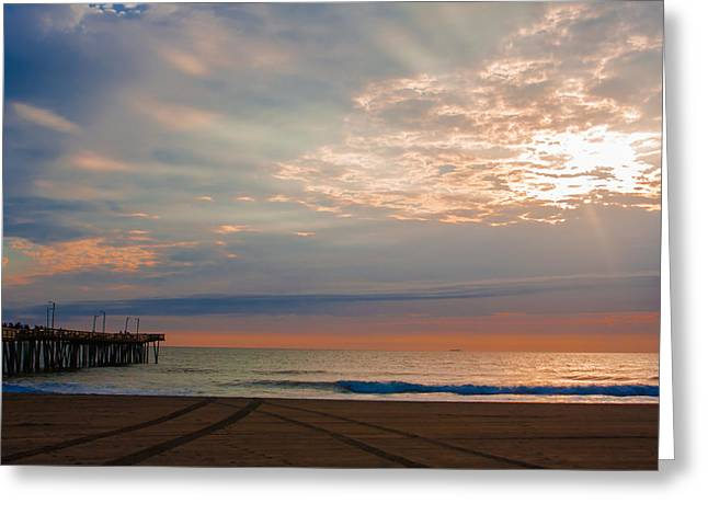 Beach Sunrise Surprise Greeting Card