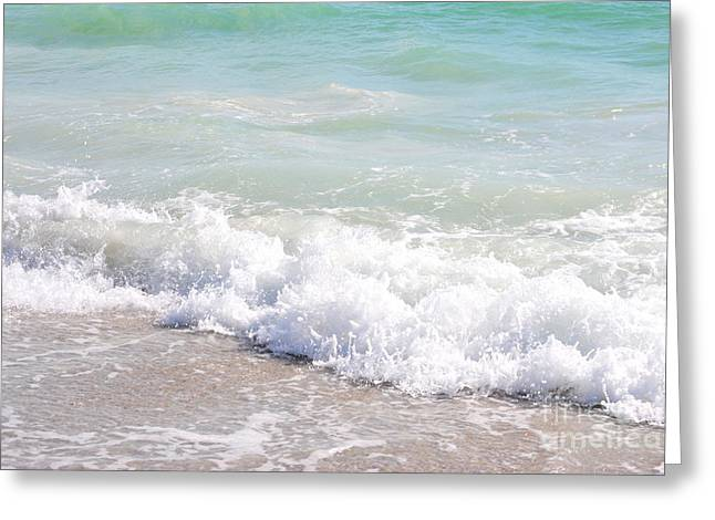 Greeting Card featuring the photograph Surf And Sand by Margie Amberge