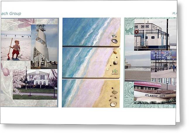 Beaches Group Greeting Card