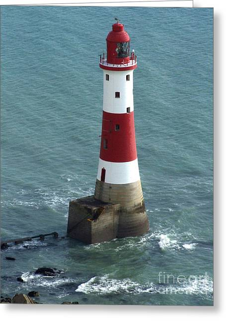 Beachy Head Lighthouse Greeting Card