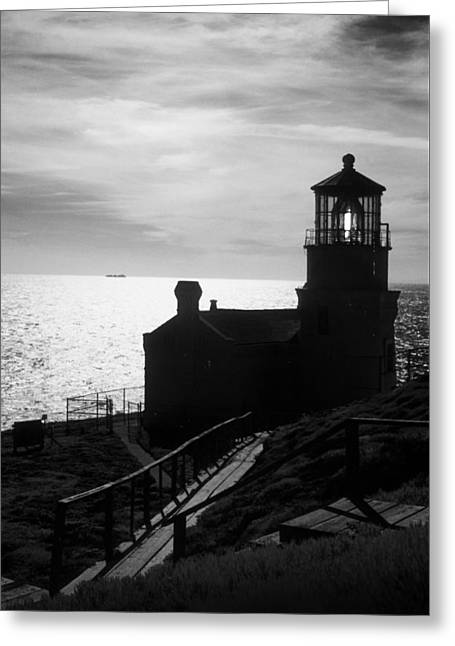 Beacon Of Hope Greeting Card by Jerry McElroy