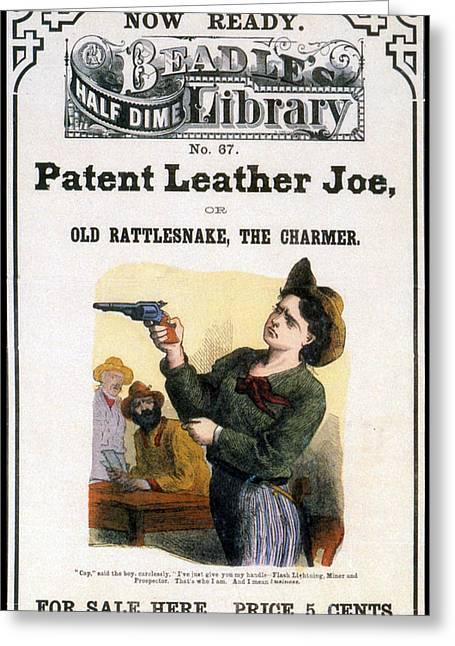 Beadles Half Dime Library, Patent Greeting Card
