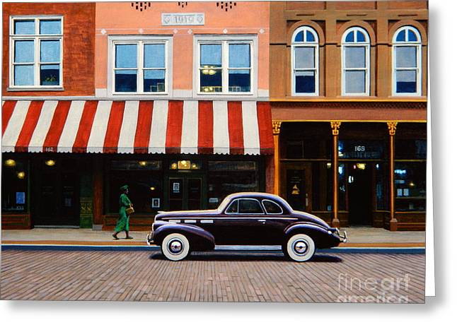 Beale Street Memphis Greeting Card by Frank Dalton