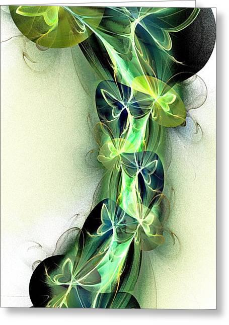 Beanstalk Greeting Card by Anastasiya Malakhova
