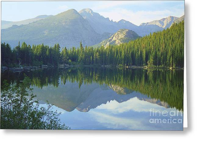 Bear Lake Colorado Greeting Card