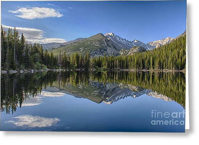 Bear Lake Reflection Greeting Card