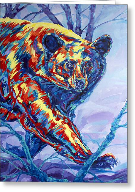Bear Walk Greeting Card
