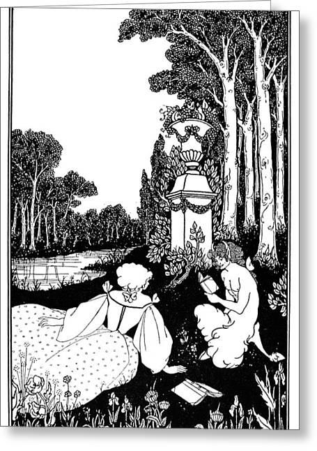Beardsley Catalog Cover Greeting Card by Granger