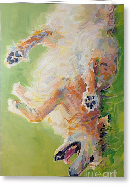 Bear's Backscratch For Phone Cases Greeting Card by Kimberly Santini