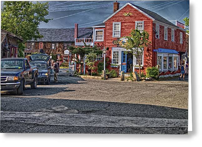 Bearskin Neck Greeting Card