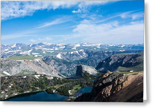 Beartooth Long Range Views Greeting Card