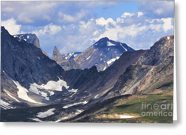 Beartooth Mountain Greeting Card