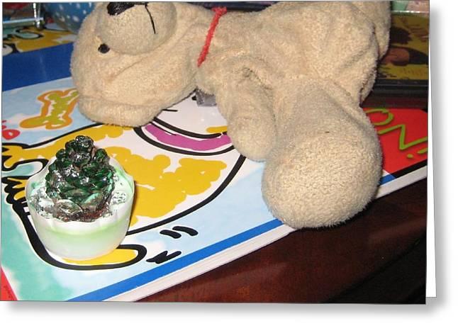 Beary Takes A Nap Greeting Card