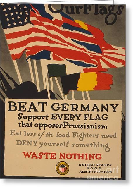 Beat Germany Greeting Card