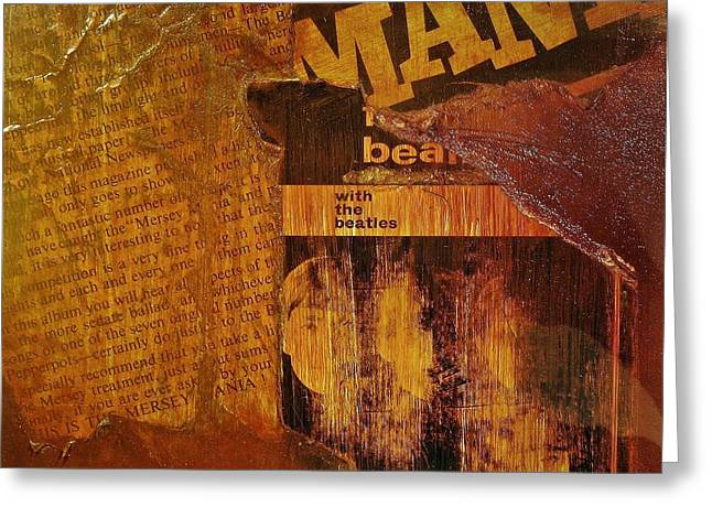 Beatlemania Greeting Card by Roland Byrne