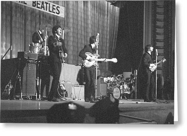Beatles Philly 1964 Greeting Card