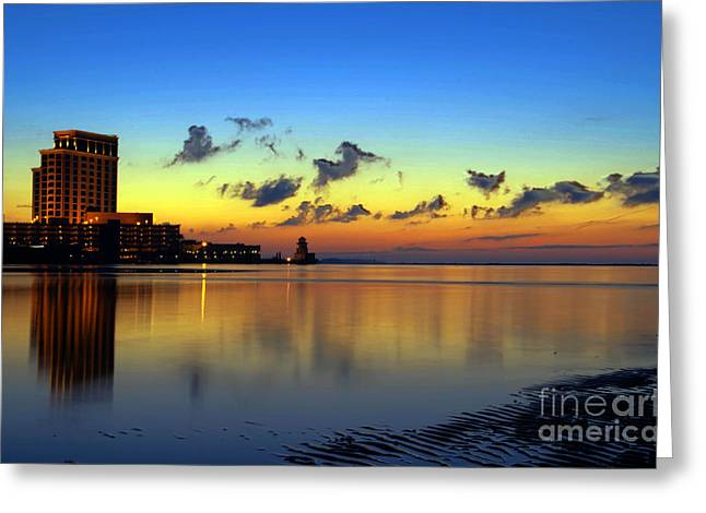 Beau Rivage Sunrise Greeting Card