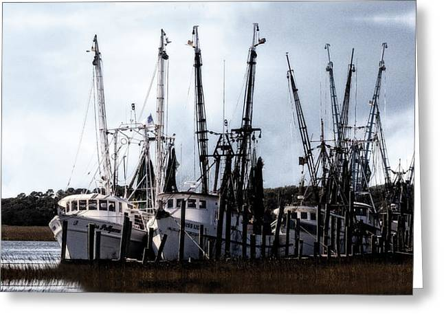 Beaufort Fleet Greeting Card