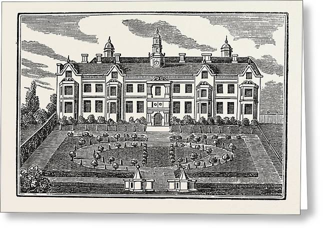 Beaufort House, Chelsea, London, Uk, Britain Greeting Card