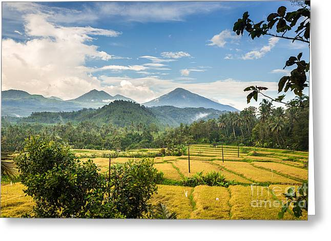 Beautiful Bali Greeting Card by Didier Marti