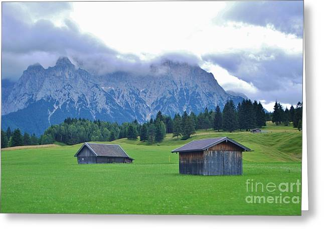 Greeting Card featuring the photograph Beautiful Bavaria by William Wyckoff