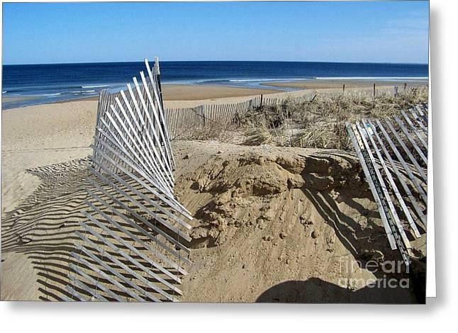 Beautiful Beach Day Greeting Card