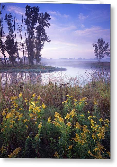 Beautiful Bend Greeting Card by Ray Mathis