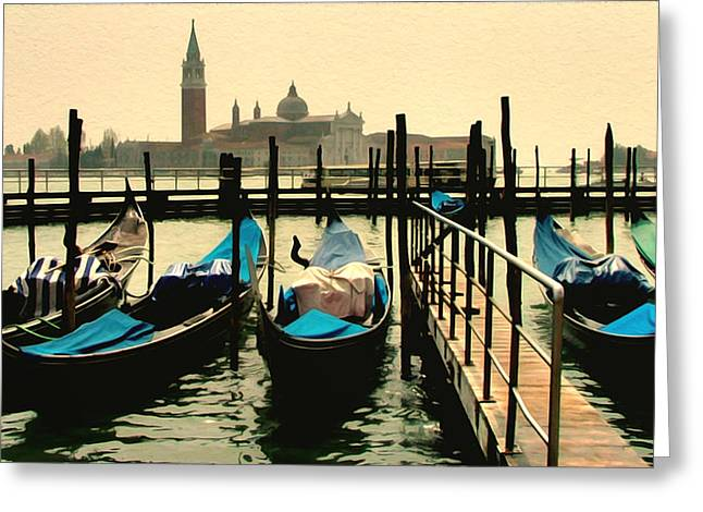 Greeting Card featuring the photograph Beautiful Day In Venice by Brian Reaves