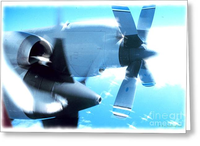 Greeting Card featuring the photograph Beautiful Fixed Wing Aircraft by R Muirhead Art