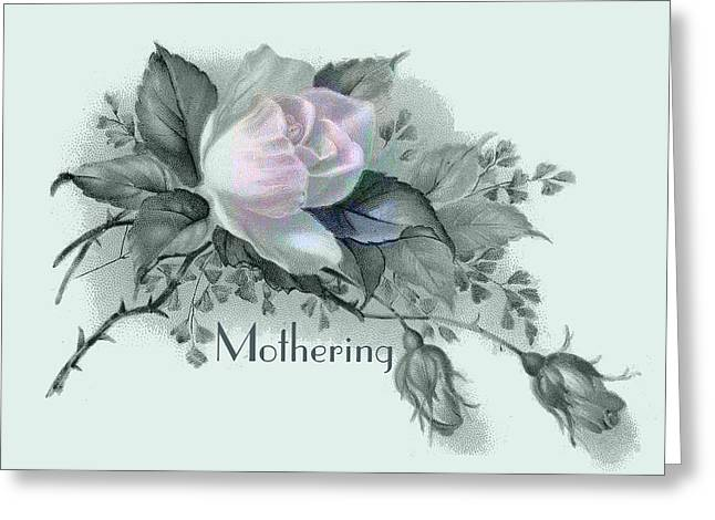 Beautiful Flowers For Mother's Day Greeting Card