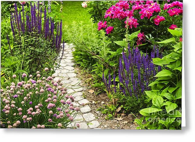 Beautiful Gardening Greeting Card by Boon Mee