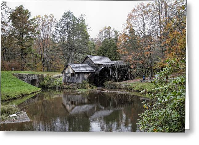 Beautiful Historical Mabry Mill Greeting Card