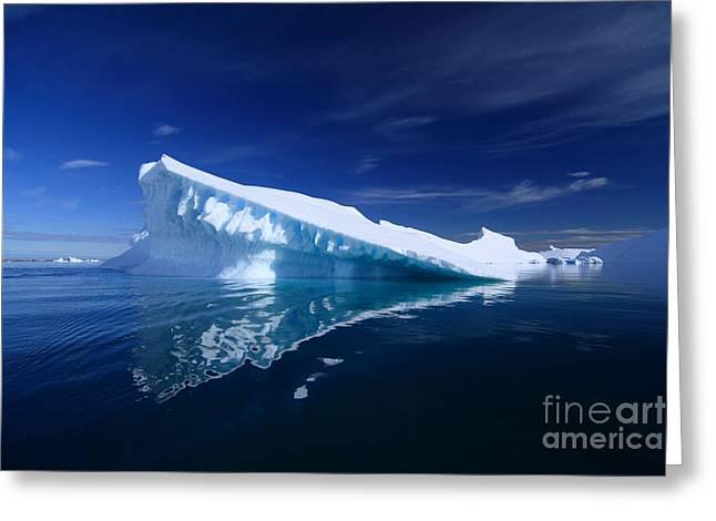 Beautiful Iceberg Greeting Card by Boon Mee