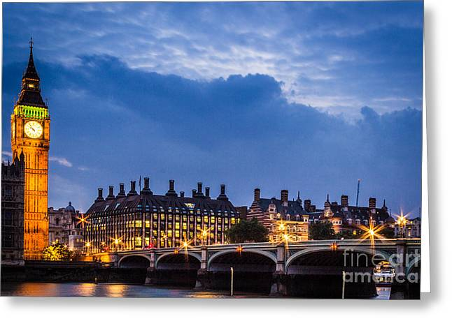 Beautiful London Greeting Card