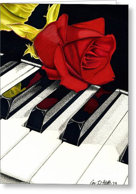 Beautiful Music Greeting Card