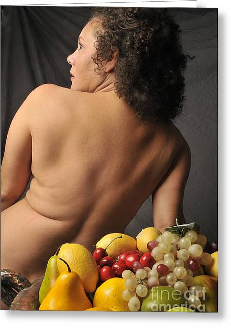 Beautiful Nude Woman Greeting Card by Timothy OLeary
