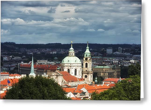 Beautiful Old Prague Czech Republic Europe Greeting Card