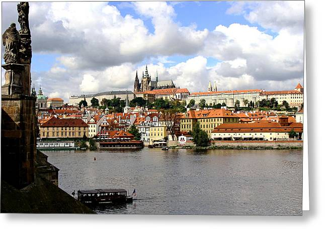 Greeting Card featuring the photograph Beautiful Prague by Ira Shander