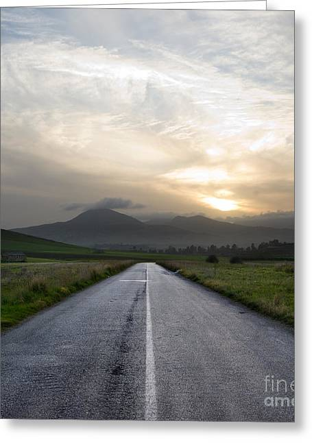 Beautiful Road Greeting Card by Boon Mee
