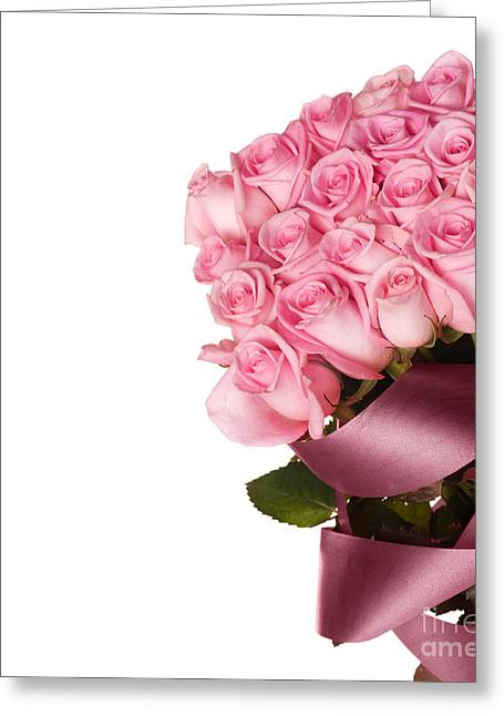 Beautiful Rose Bouquet Greeting Card by Boon Mee