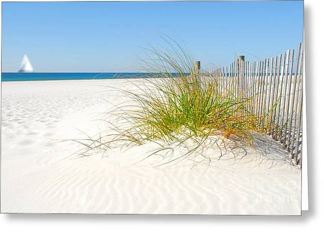 Beautiful Sand Dune Greeting Card by Boon Mee