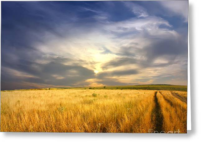 Beautiful Sunrise Pictures Greeting Card by Boon Mee