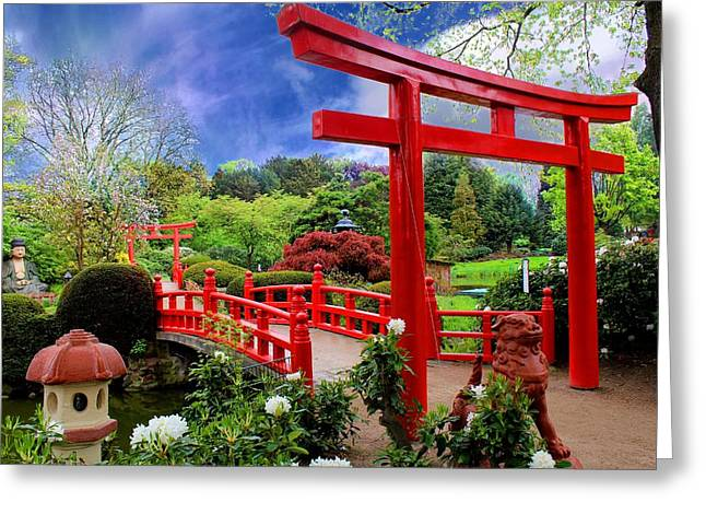 Beautiful Zen Garden Greeting Card