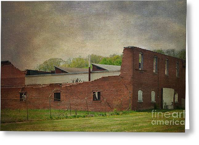 Beauty After The Tornado Greeting Card by Luther Fine Art
