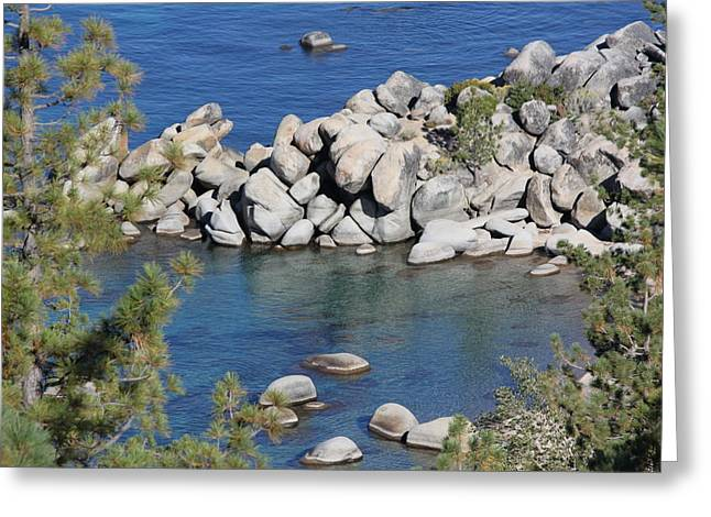 Beauty For The Eyes Lake Tahoe Greeting Card